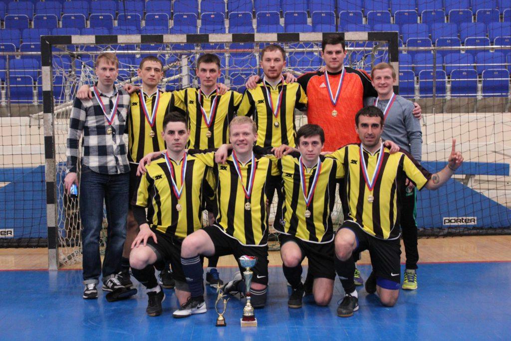 Закрытие сезона 2016-2017 г. по мини-футболу среди мужских команд