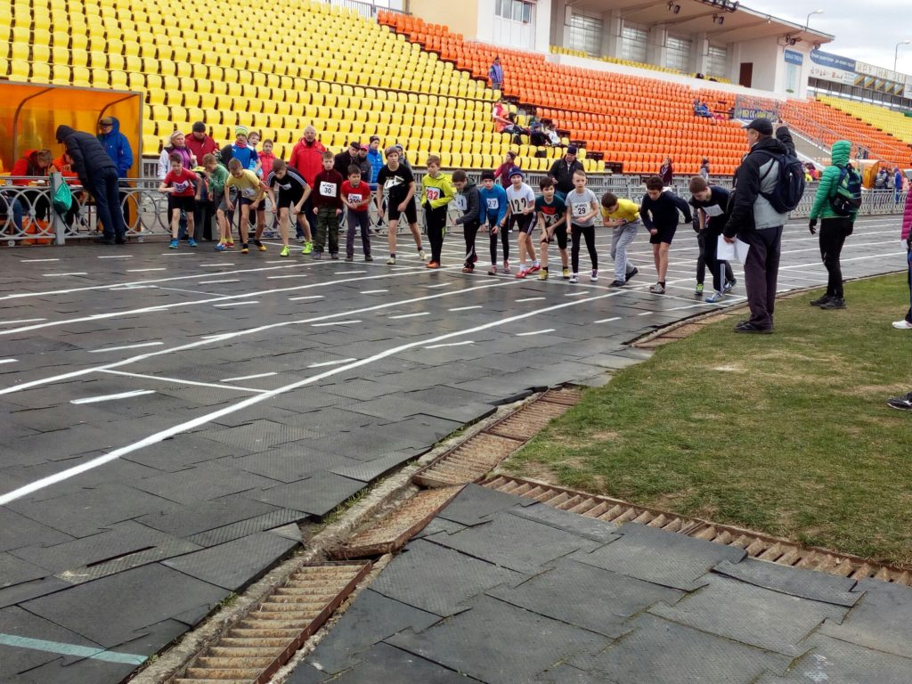 Открытое первенство г. Коломны по легкой атлетике на призы МСМК О.В. Вороновой
