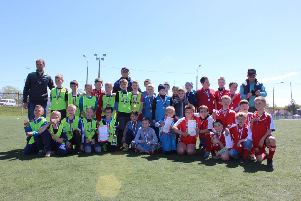 Турнир по футболу среди детских команд, посвященный «Дню Победы».