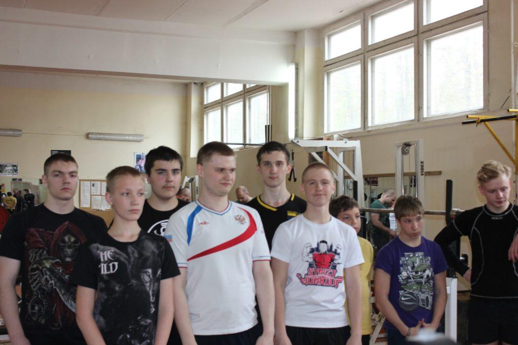 Соревнования по пауэрлифтингу, посвященные «Дню Победы».