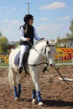 Соревнования по конному спорта для лиц с ограниченными возможностями здоровья.