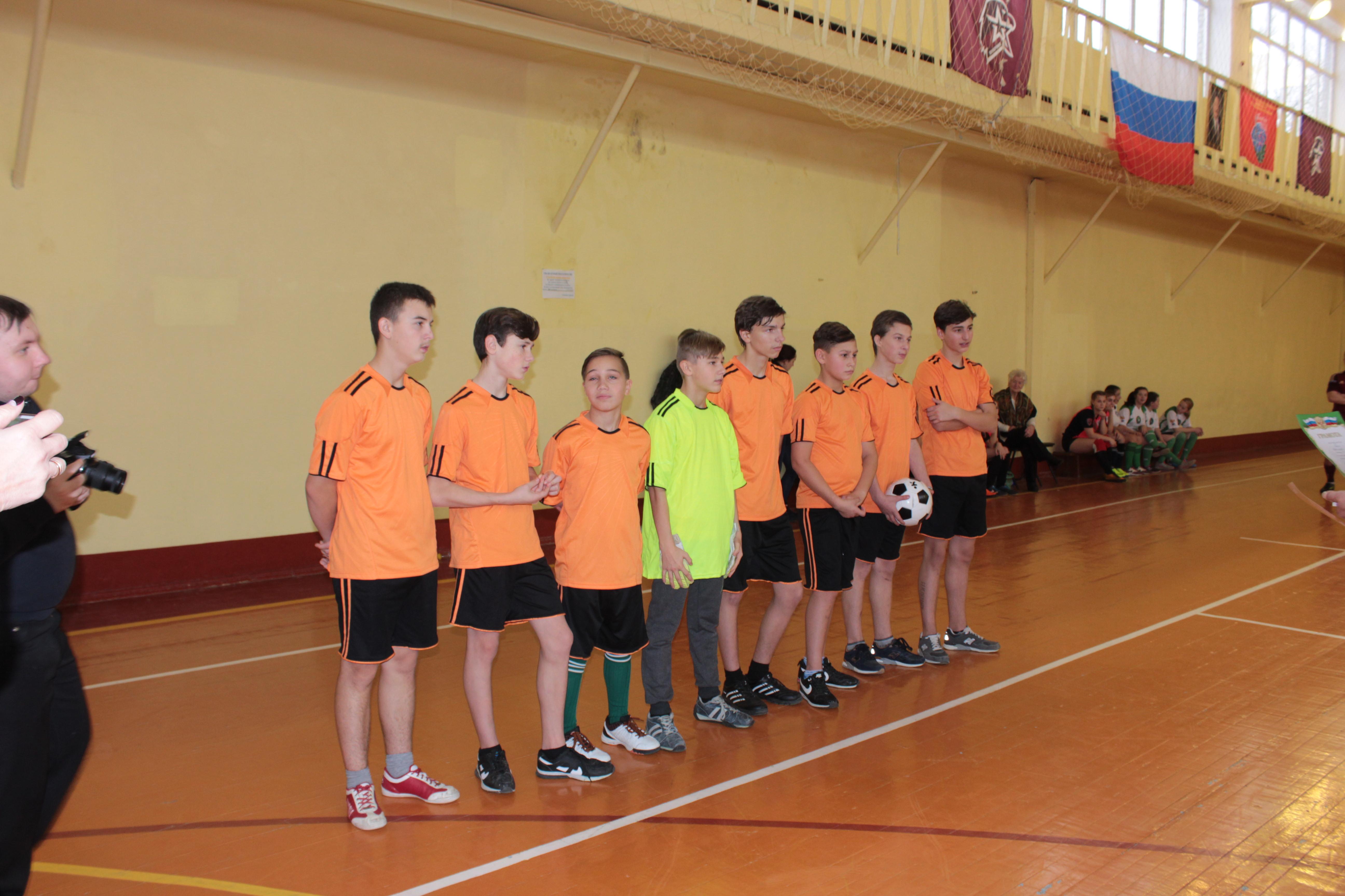 Турнир по мини-футбола памяти В.А. Никитина