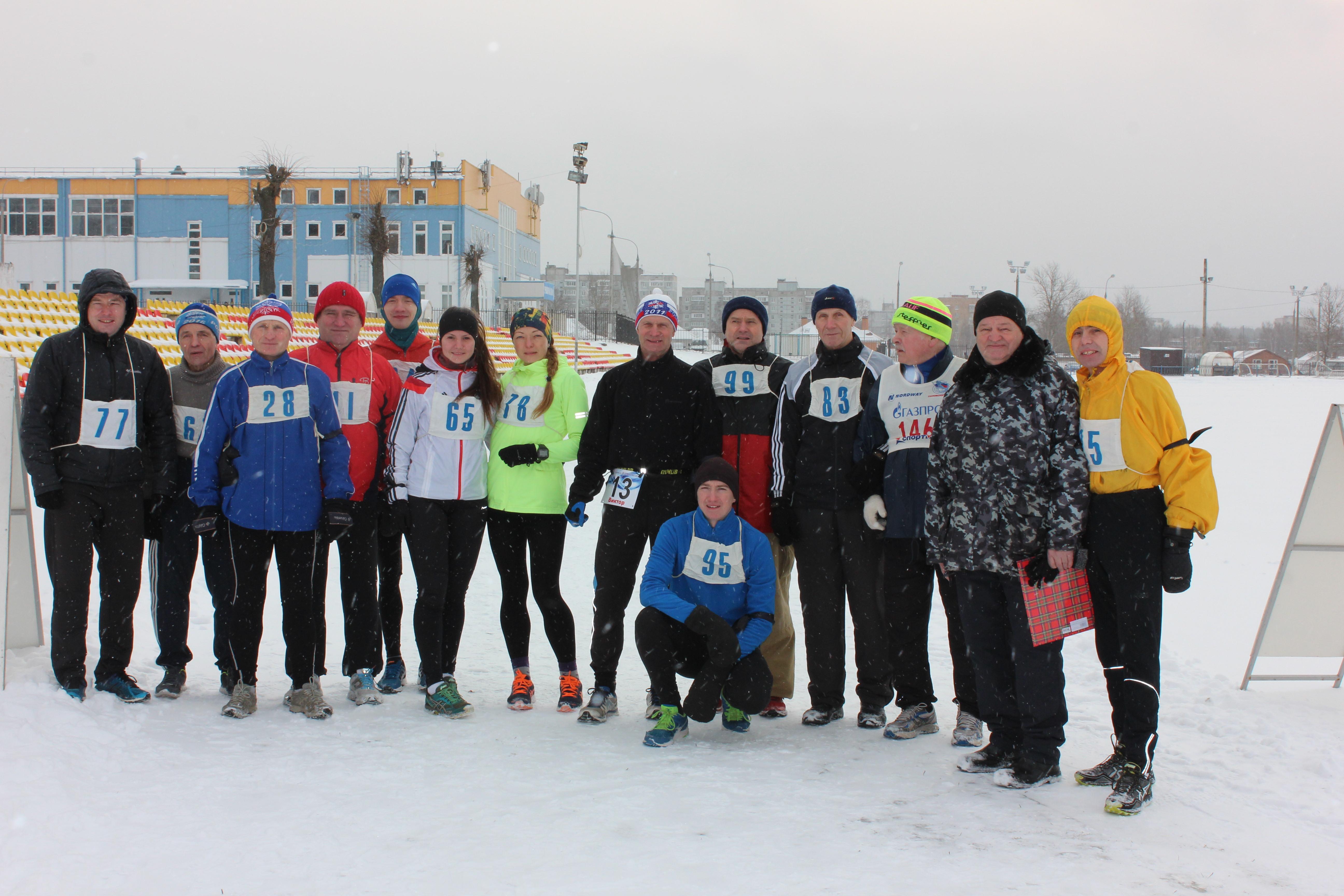 20.01.2018 пробег памяти В.А. Медведева.
