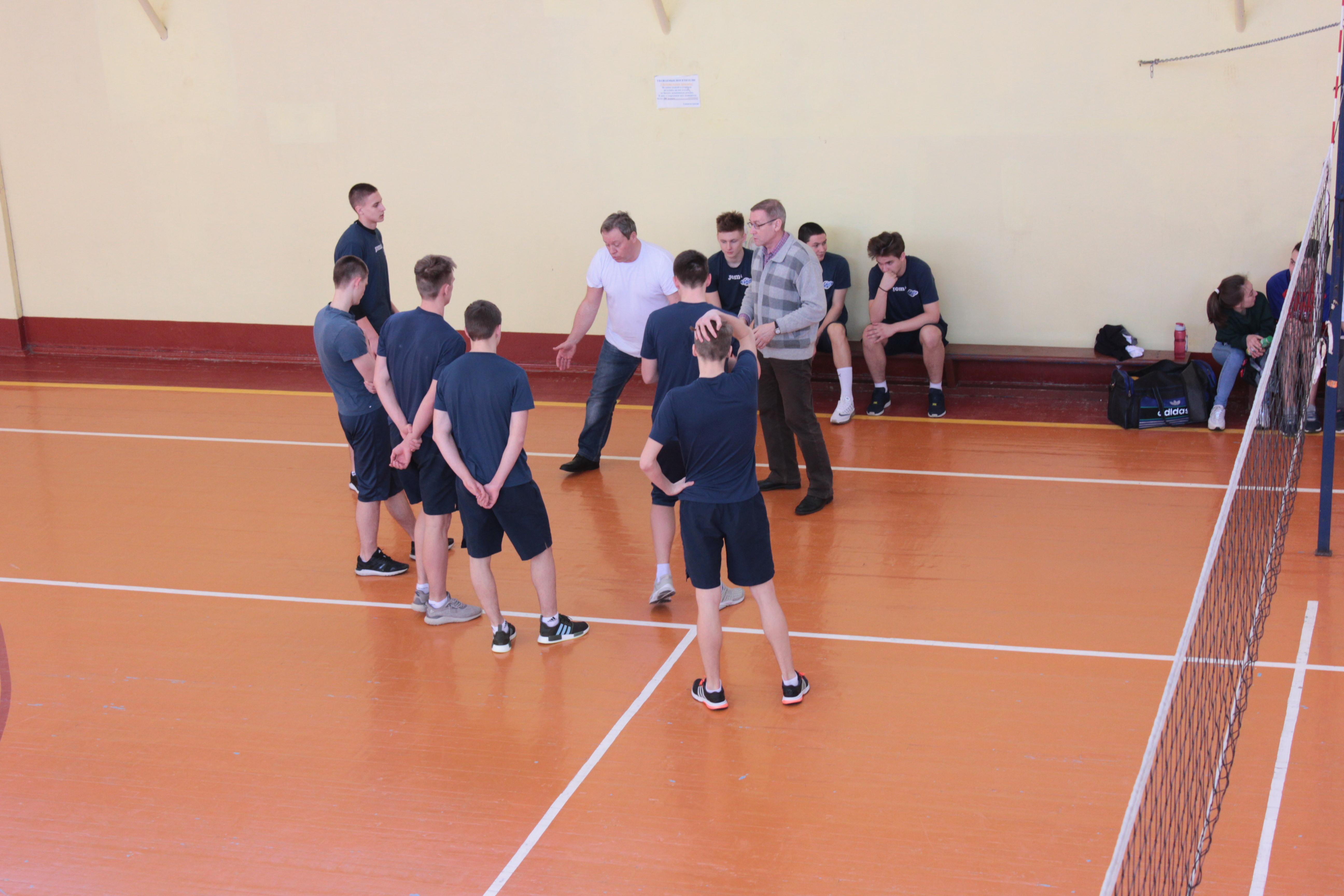Матчи первенства г.о. Егорьевск по волейболу