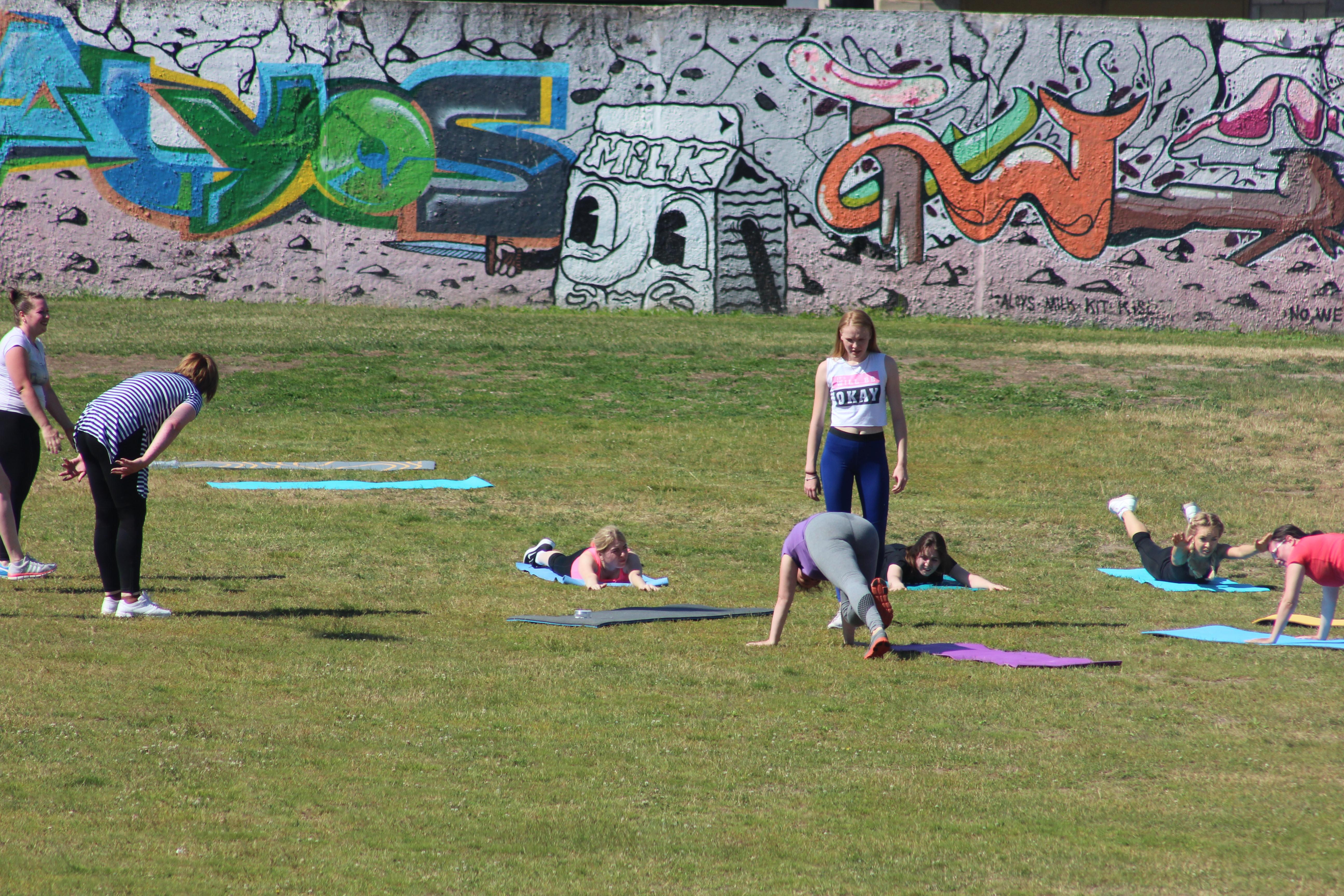 Тренировки по женскому фитнесу
