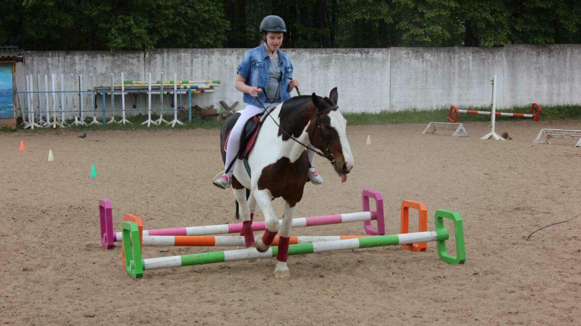 Соревнования по конному спорту для лиц с ограниченными возможностями здоровья, посвященные Дню города Егорьевск
