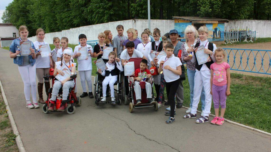 Соревнования по конному спорту для лиц с ограниченными возможностями здоровья, посвященные дню Флага России.