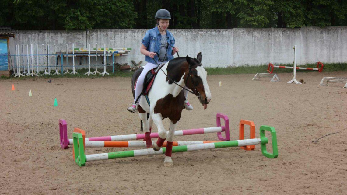 Районные соревнования по конному спорту для детей с ограниченными возможностями
