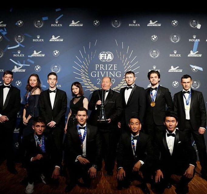 Церемония вручения премии Международной автомобильной федерации FIA