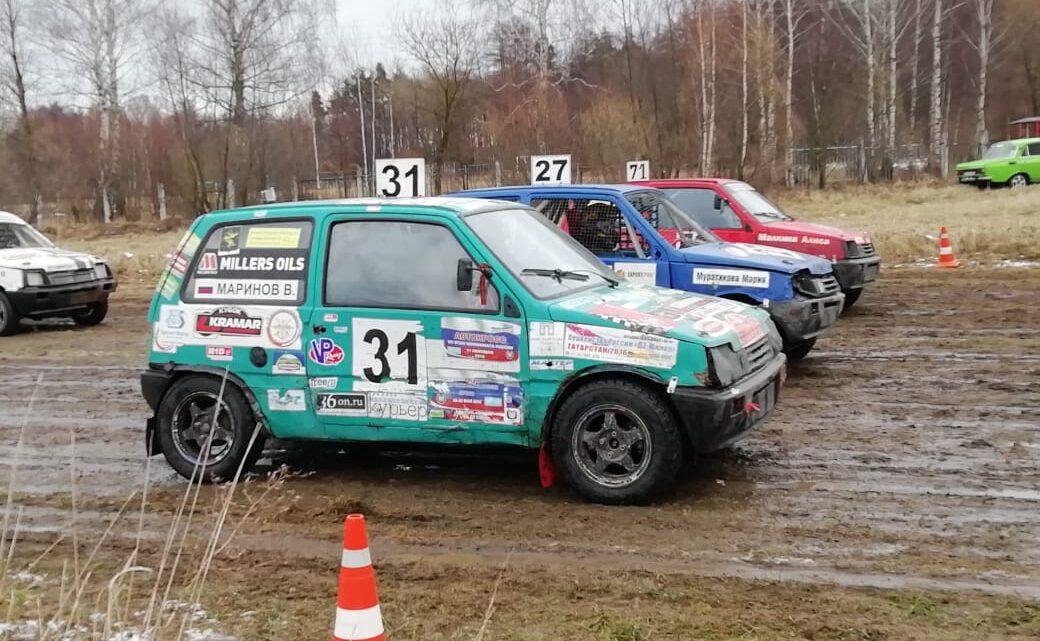 Традиционные  соревнования по автокроссу г.о.Егорьевск, посвященные Дню студента