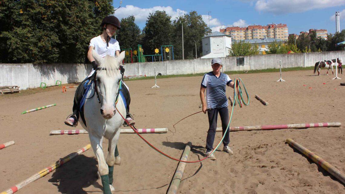 Соревнования по конному спорту для лиц с ограниченными возможностями здоровья памяти Анны Королевой