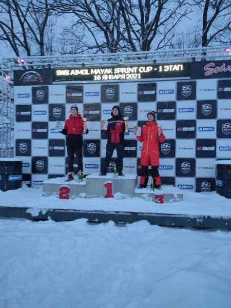 1-й этап гонок SWS Sprint Cup Russia по картингу.