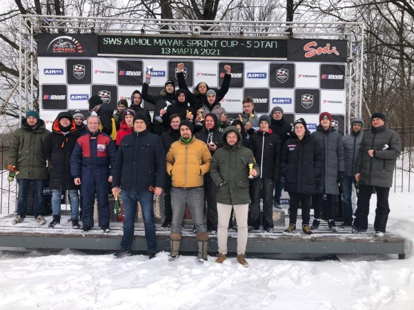 5 этап SWS Sprint Cup Russia по картингу