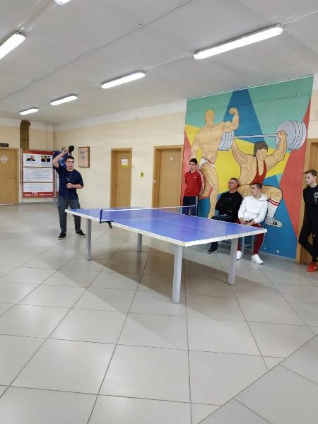 Турнир по настольному теннису среди сельской молодежи