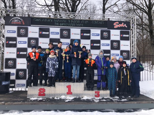 4-й этап гонок SWS Junior Cup (класс мини) по картингу