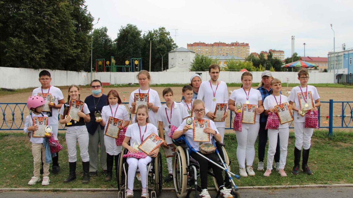 Соревнования по конному спорту для лиц с ограниченными возможностями здоровья посвященные памяти Марии и Анны Королевых.