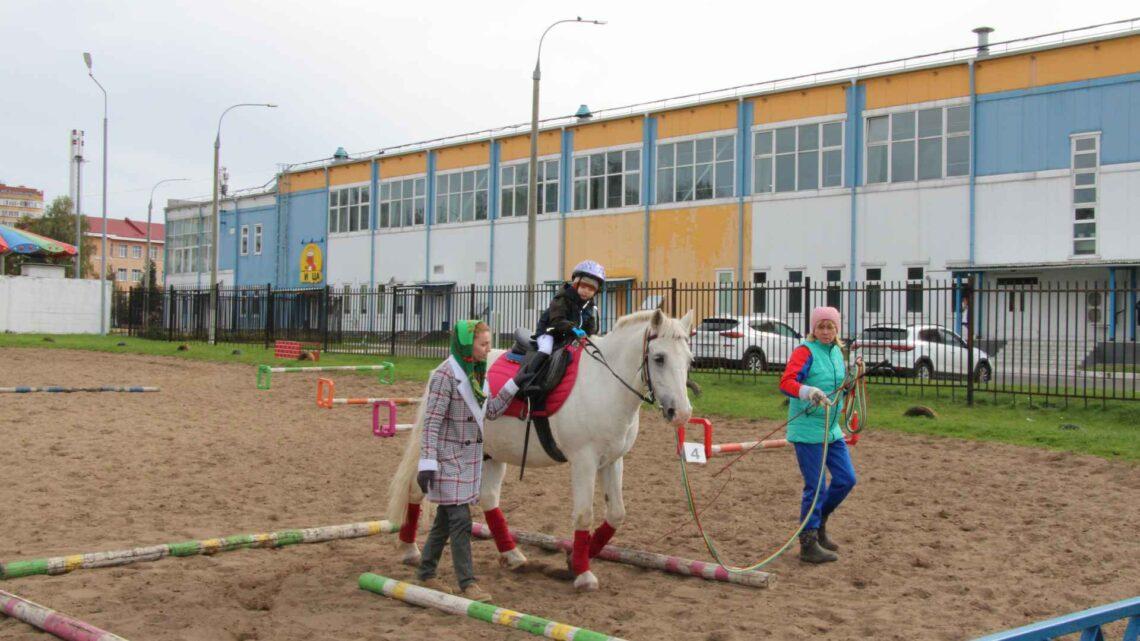 Cоревнования по конному спорту для лиц с ограниченными возможностями здоровья, посвященные Дню города.