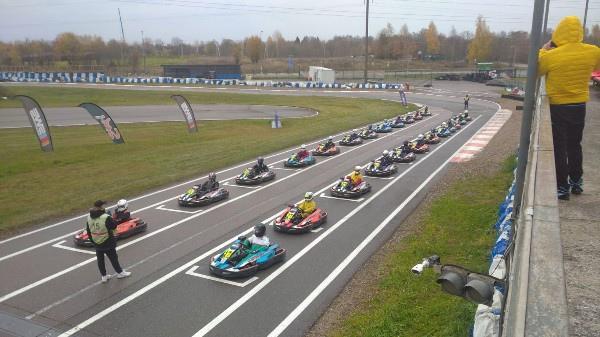 20-й этап SWS Sprint Cup по картингу